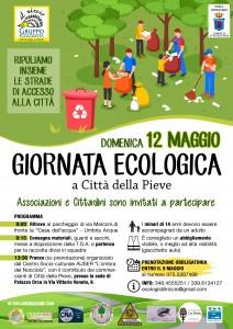Locandina Giornata ecologica 12 maggio Città della Pieve